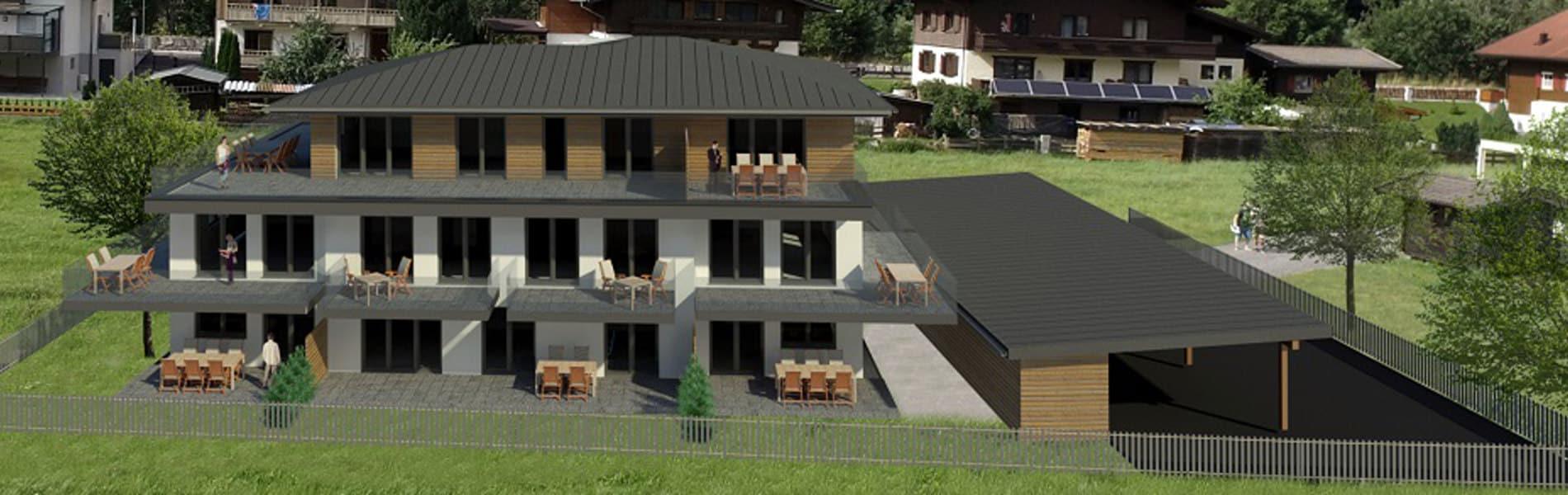 Wau Wohnbau Grüne-Lounge Mittersill