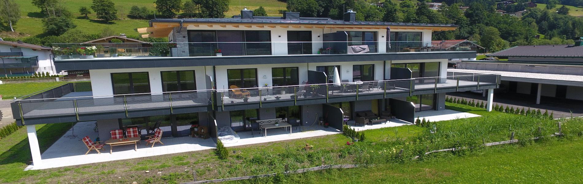 Wau-Wohnbau-Mittersill-Grüne-Lounge