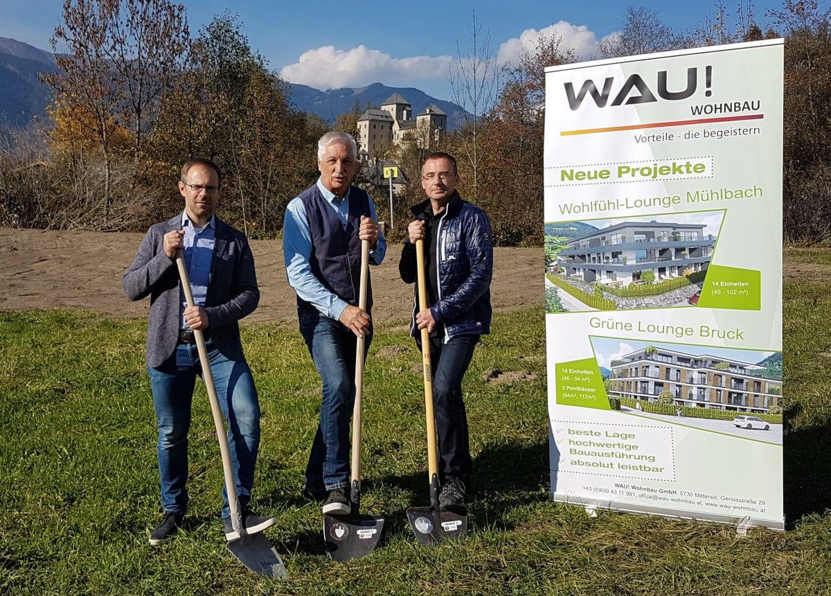 Wau-Wohnbau-Spatenstich-Grüne-Lounge-Bruck-3